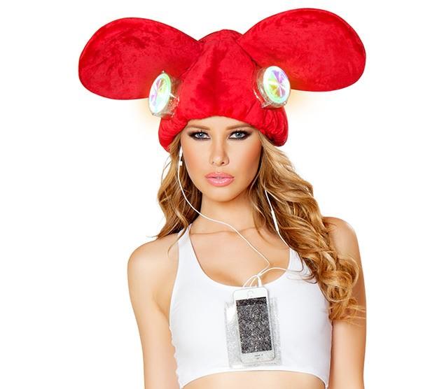 this skimpy deadmau5 inspired costume is vomit