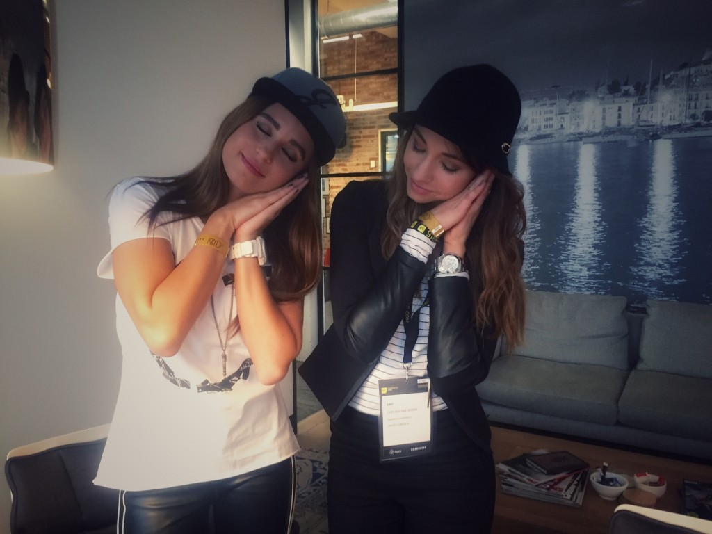 Representing #NapGirls with DJ Juicy M at Armada offices.