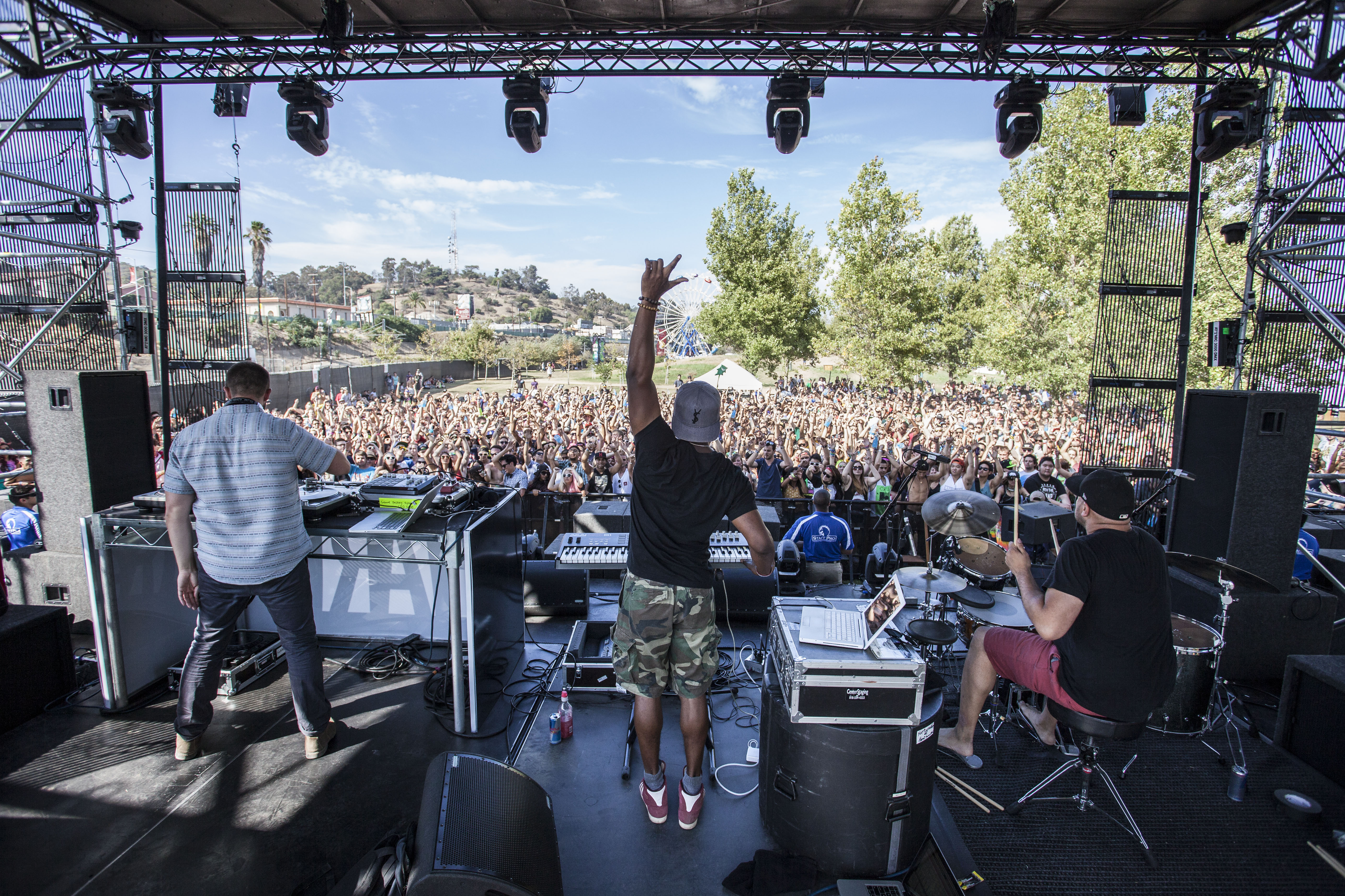 Keys N' Krates @ Hard Summer, Los Angeles 9.4.13