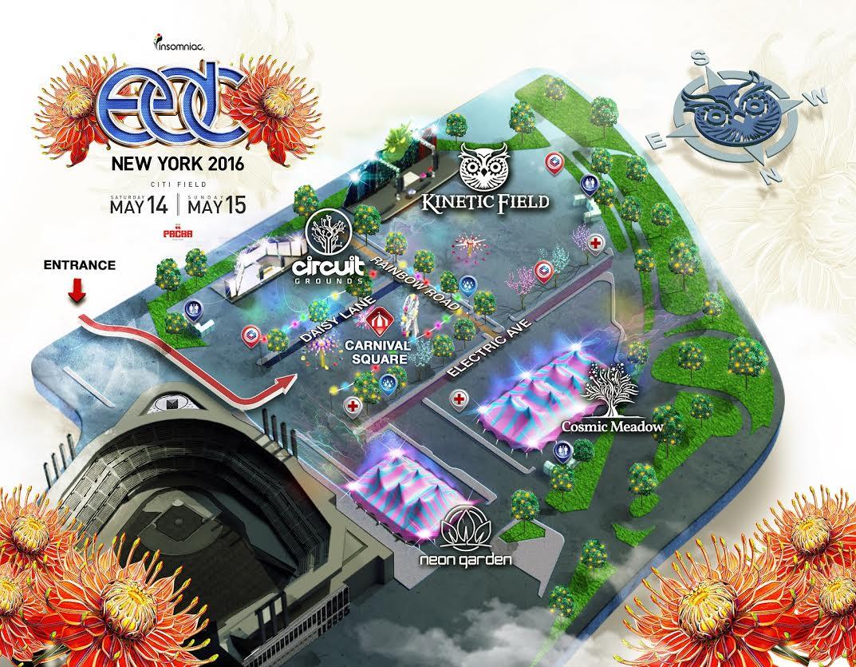 edc ny 2016 map