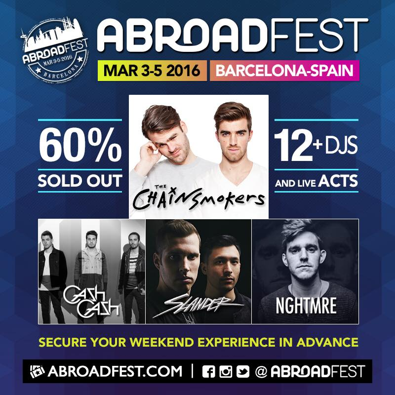 AbroadFestLineup