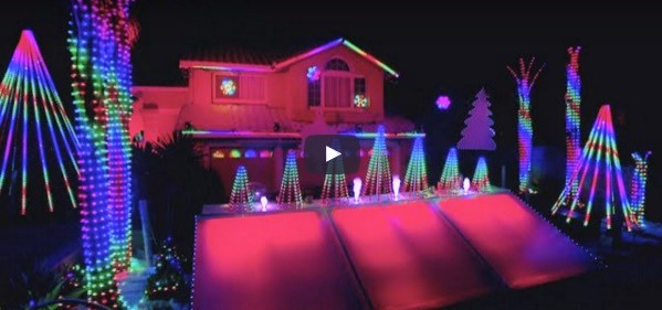 top 7 holiday house light shows synced to edm your edm