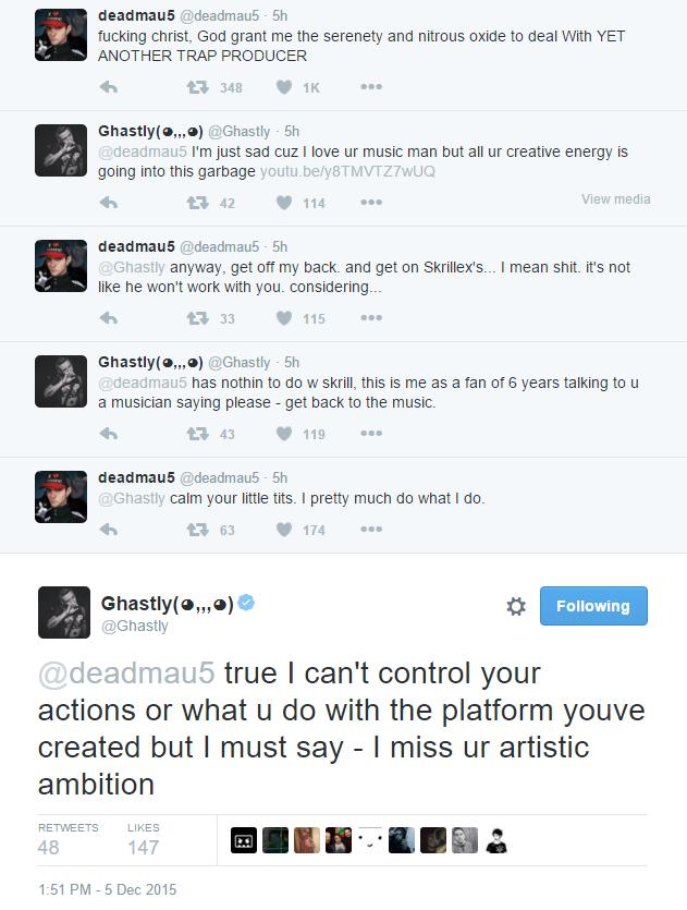 deadmau5 vs ghastly