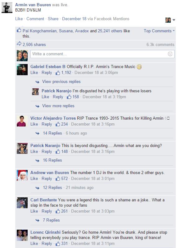 fans react armin