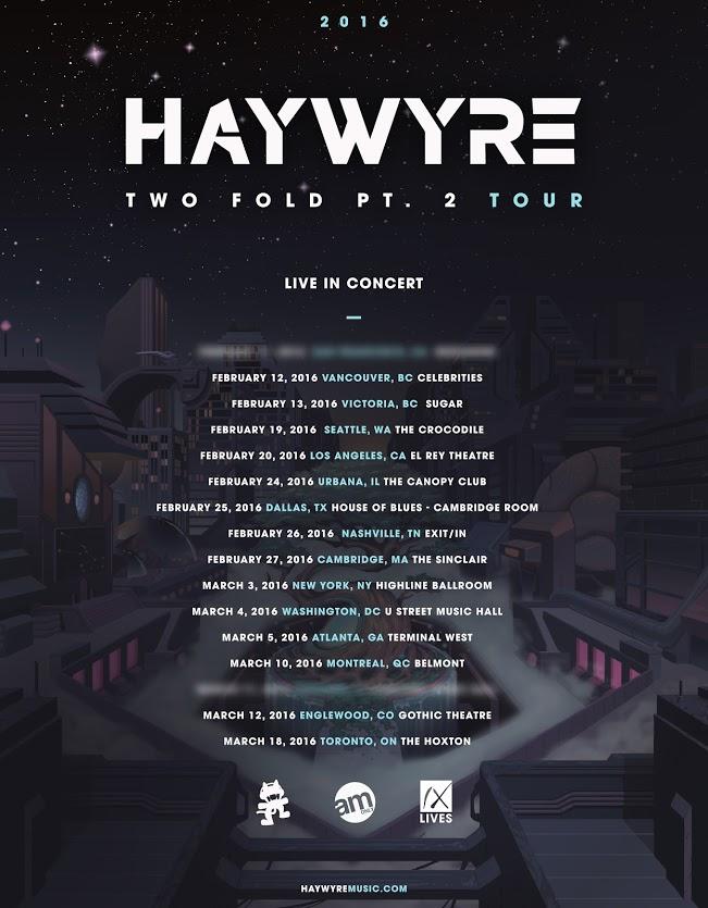 haywyre two fold pt 2 tour