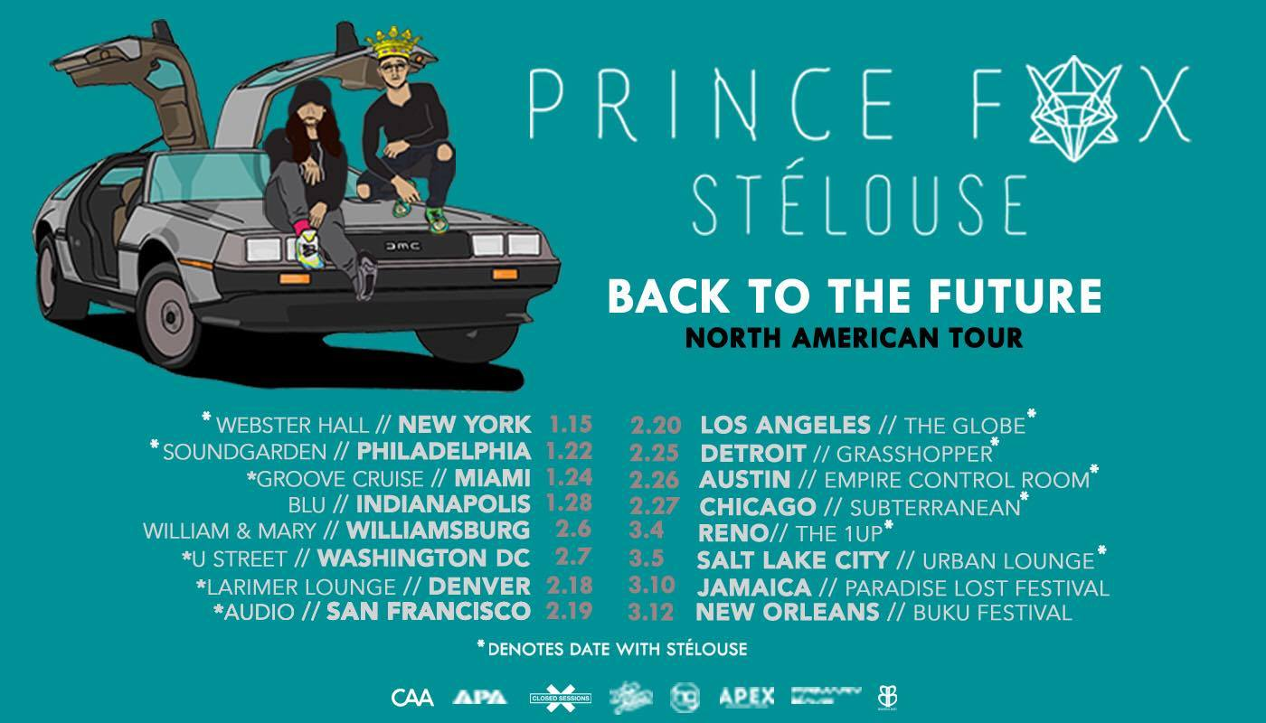 prince fox back to the future tour