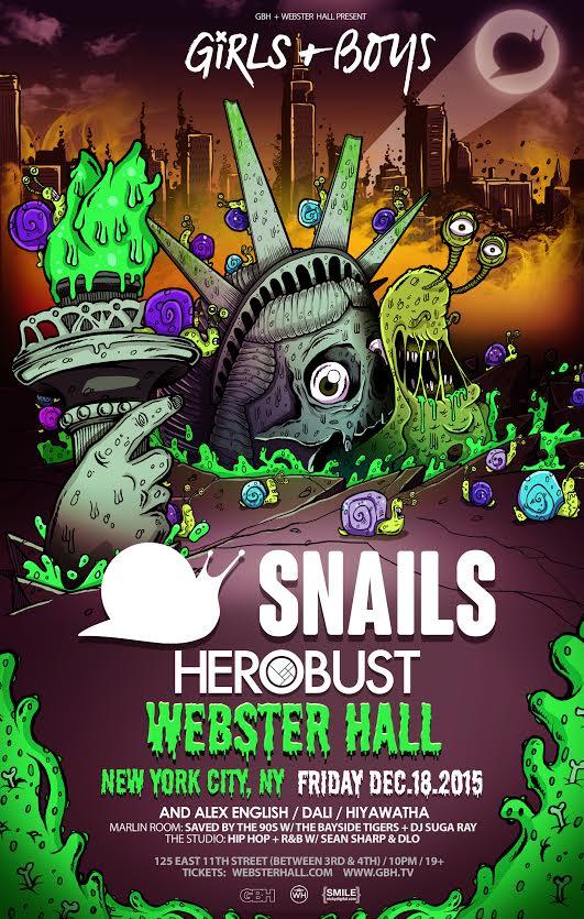 snails herobust webster hall
