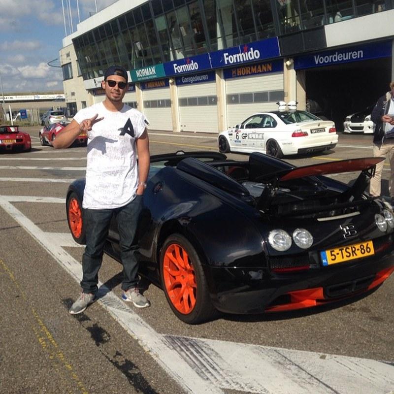 Afrojacks Bugatti Chiron Gets Its First Passenger Test Your EDM - Fast car edm