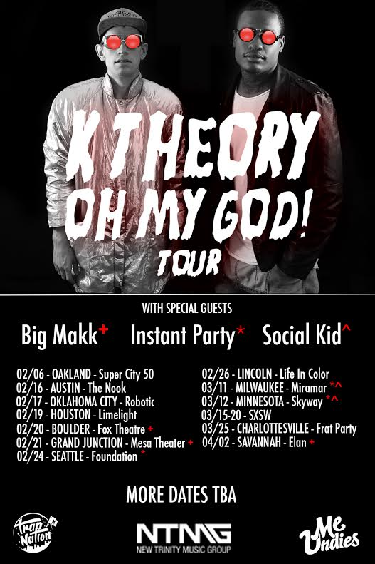 k theory tour flyer