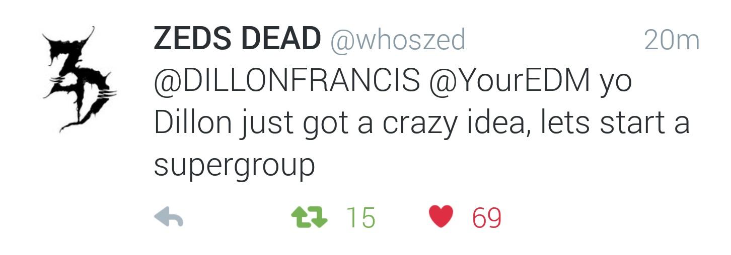 zeds dead tweet intrepids