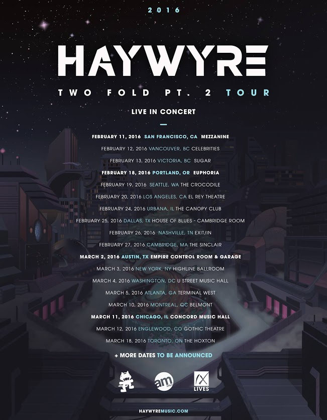 haywyre live in concert