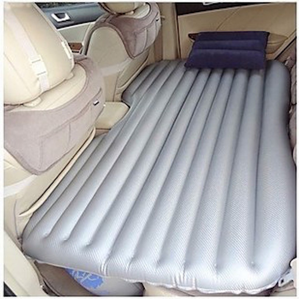 Backseat Inflatable Bed Inflatable Mattress Turns The Back Seat Of Your Car Into A Perfect