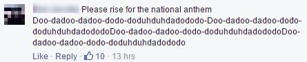 sandstorm national anthem comment