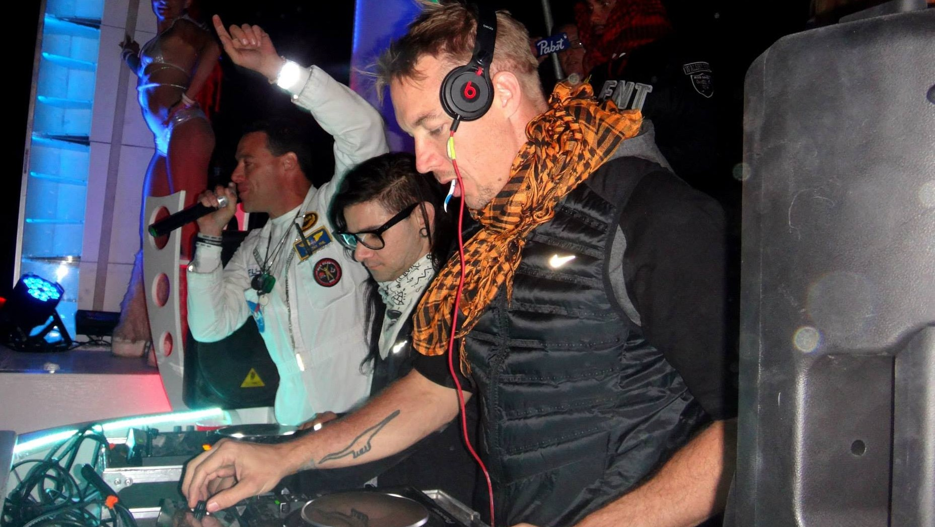Listen To Skrillex & Diplo Play Burning Man's Camp Question