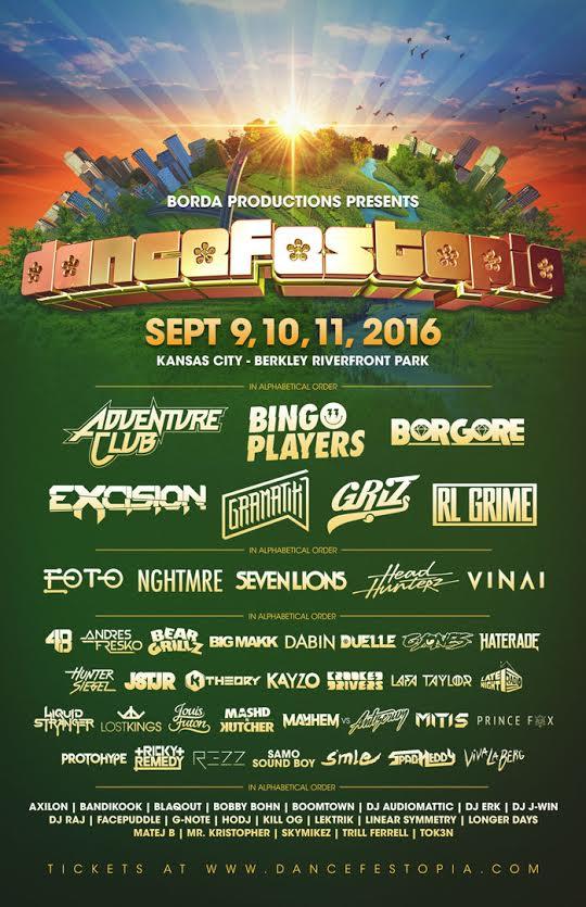 dancefestopia lineup 2016