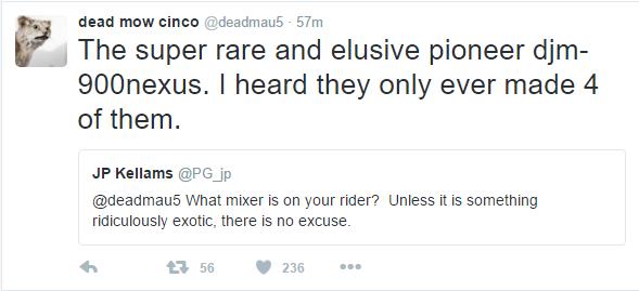 deadmau5 mixers specific