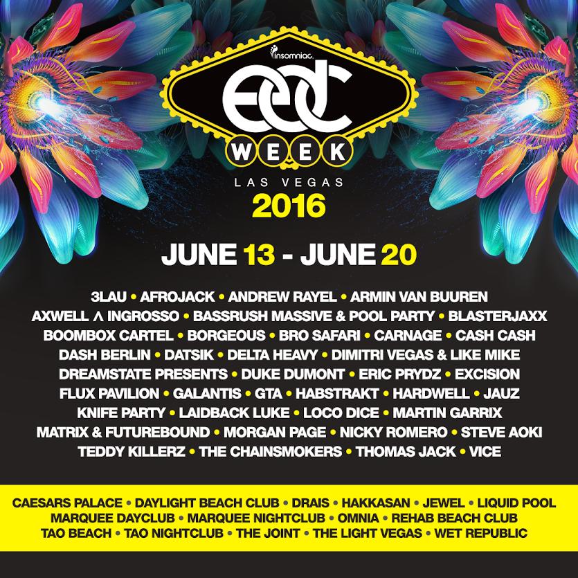 edc week lineup 2016