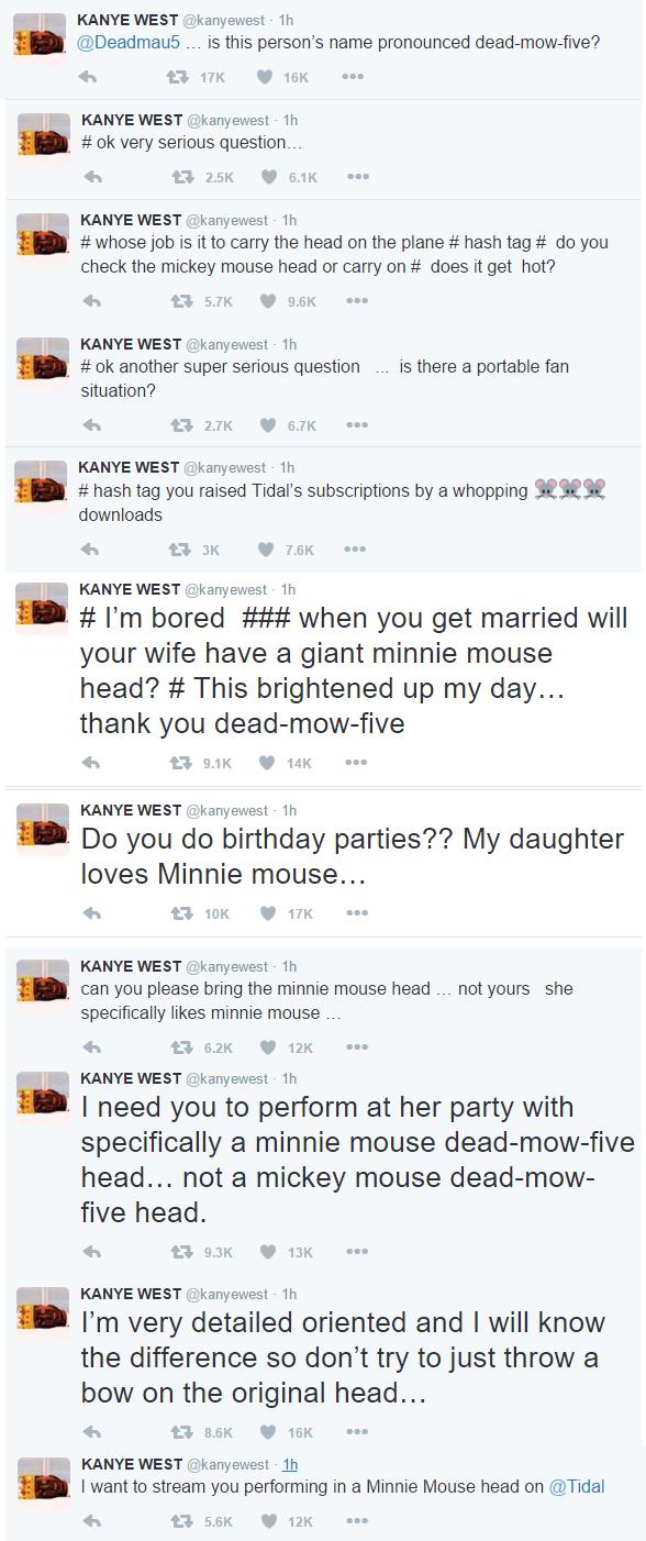 kanye west tweets deadmau5 2