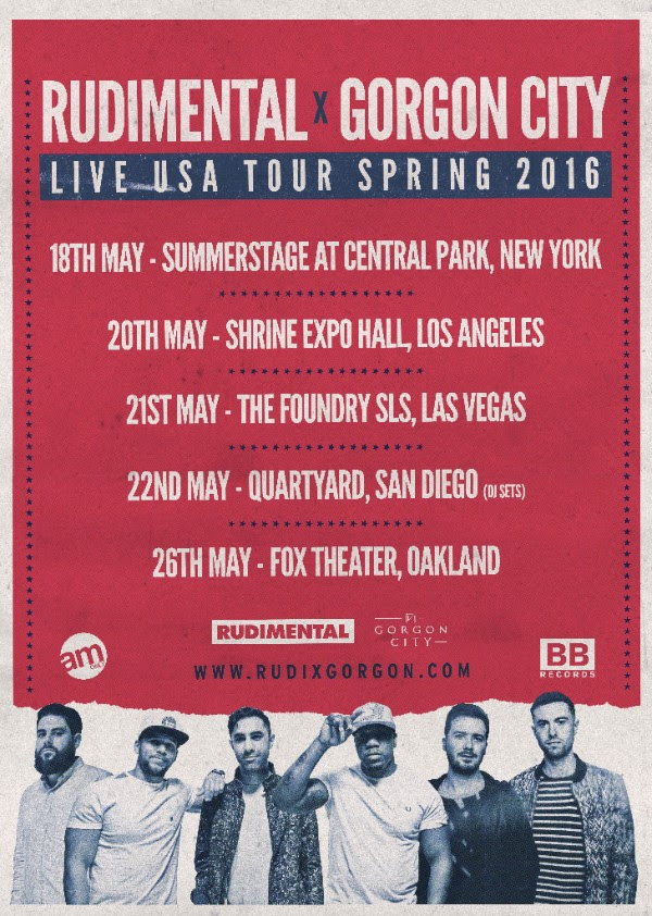 rudimental live tour