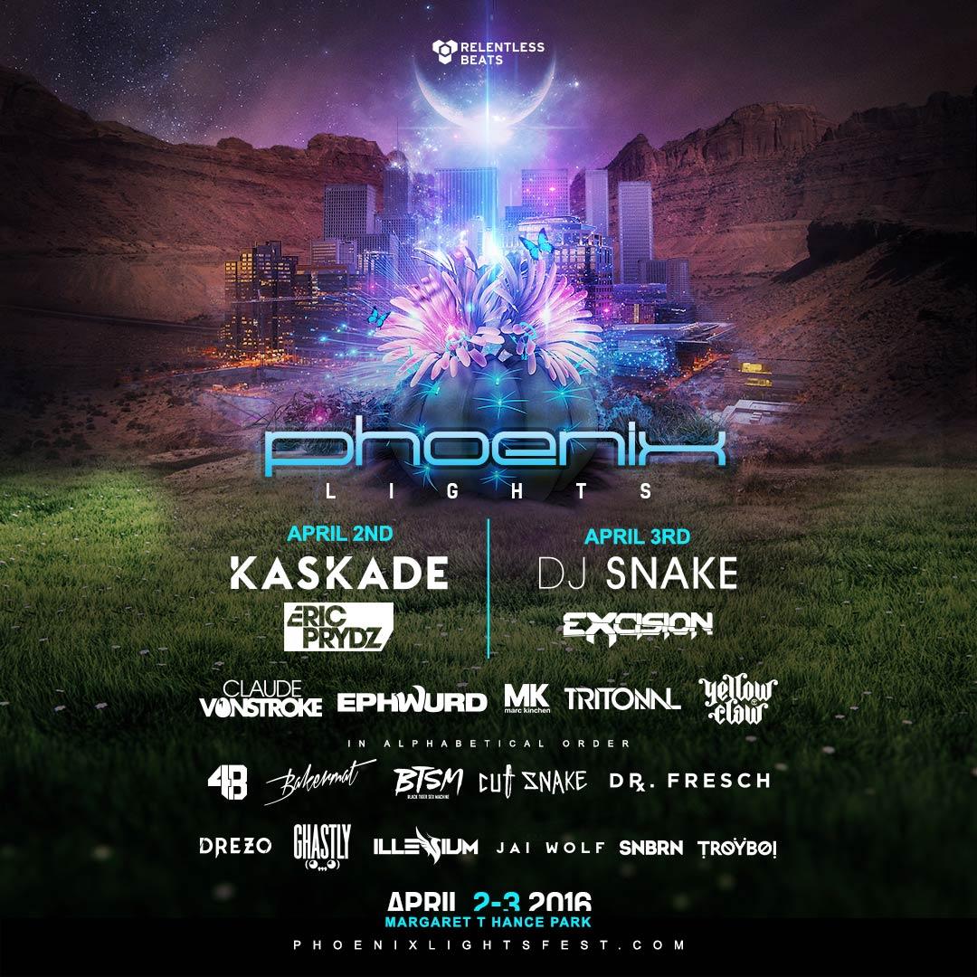 Phoenix Lights Festival Is About To Own Arizonau0027s Festival Scene   Your EDM