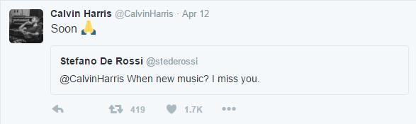 calvin harris tweet 2