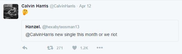 calvin harris tweet 3