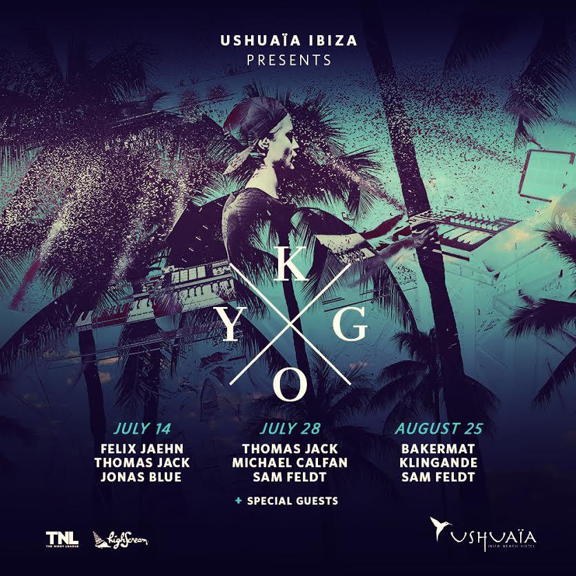 kygo ushuaia schedule