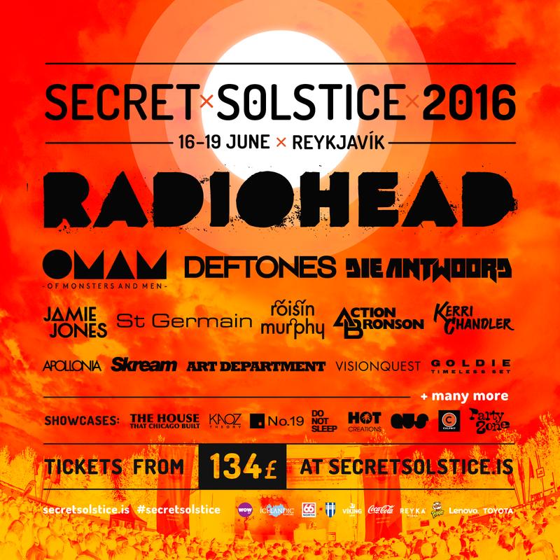 secret solstice lineup