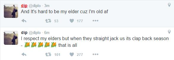 diplo is an elder