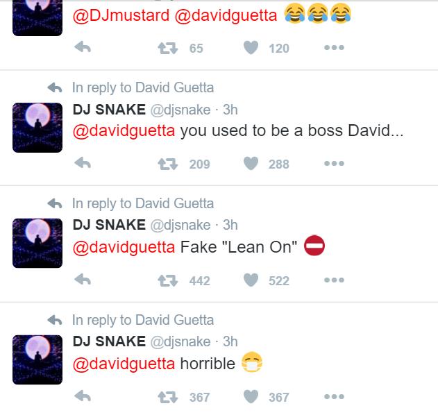 dj snake vs guetta - lean on