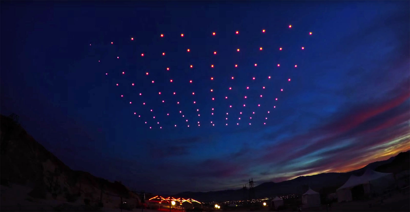 Drone Light Show >> Drone Shows Are About To Replace Fireworks   Your EDM