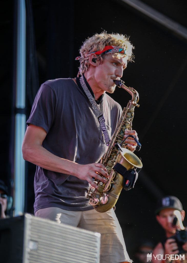Griz - rocking the Which Stage