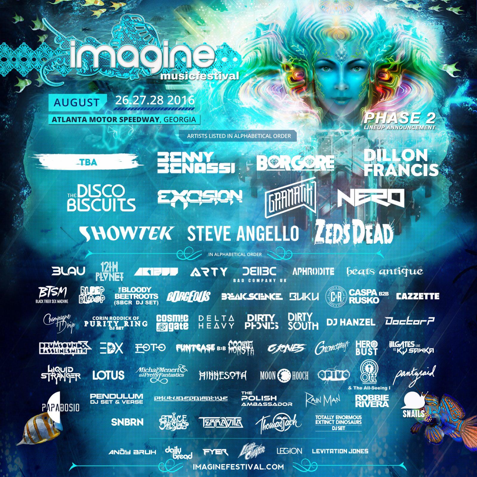 Phase2-Lineup-Imagine Festival-Full-Square