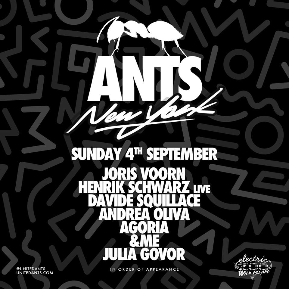 electric zoo ants