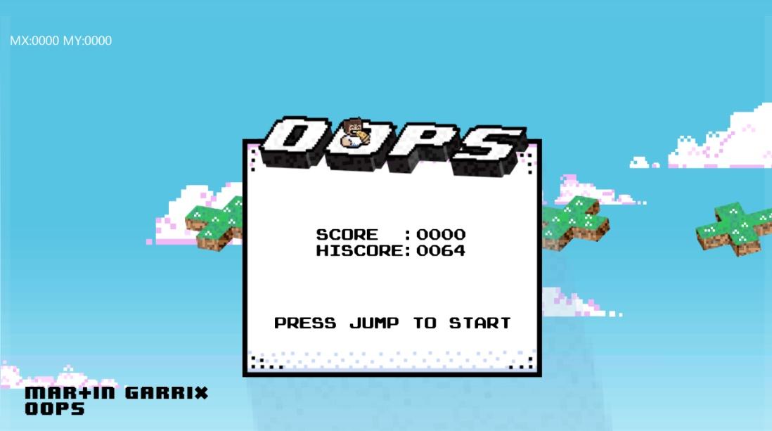 martin garrix oops game