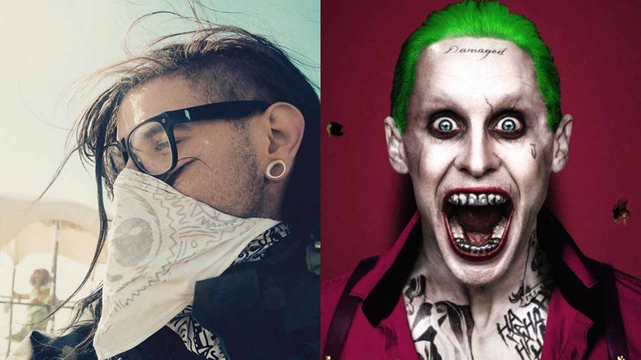 skrillex describes his experience working with jared leto on 'purple