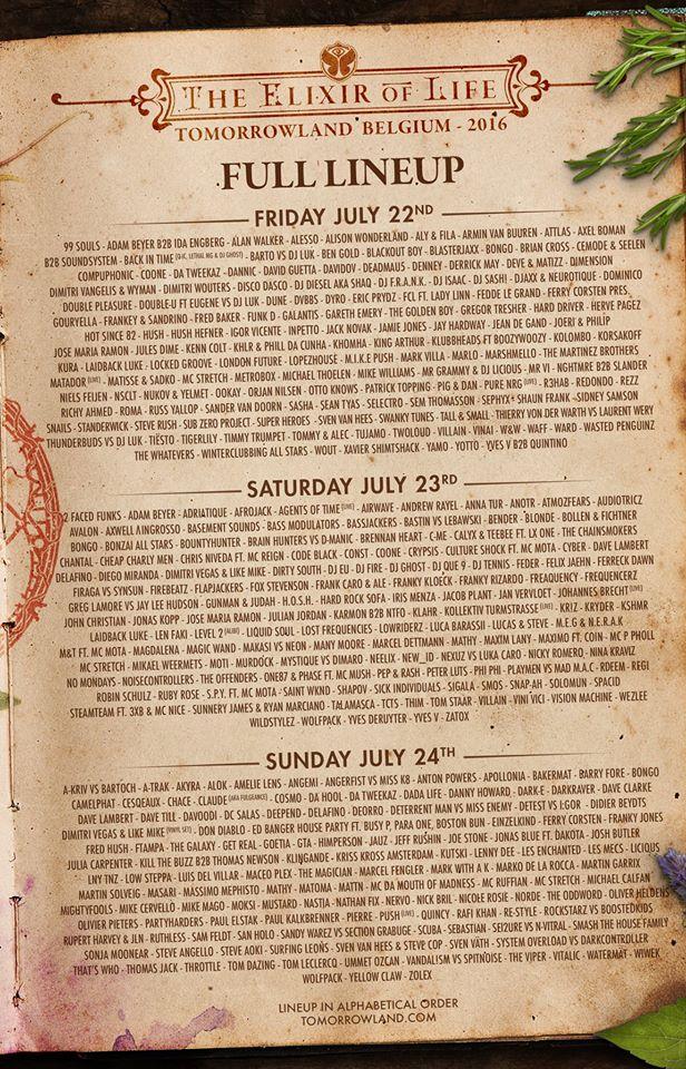 tomorrowland-lineup