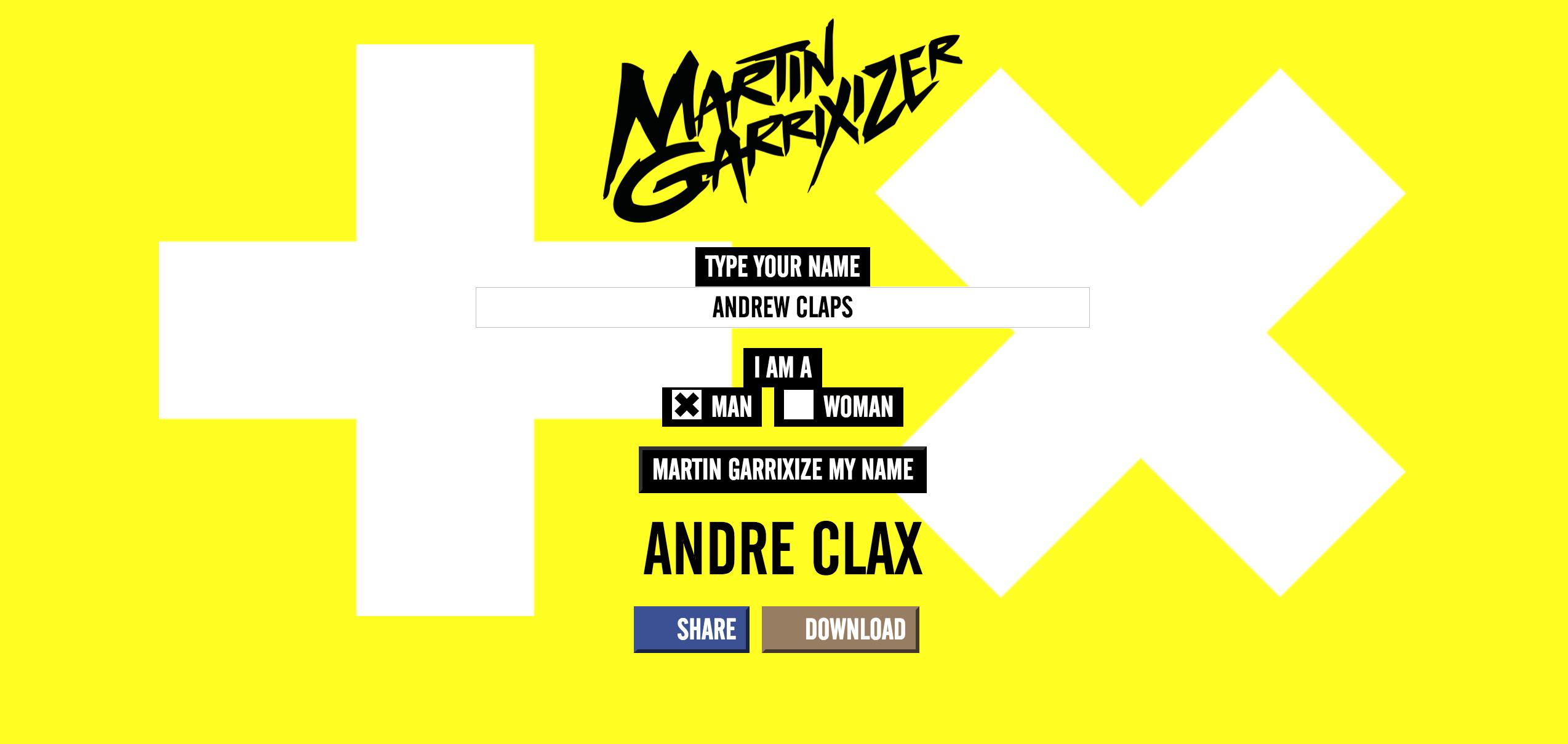 martin garrixizer