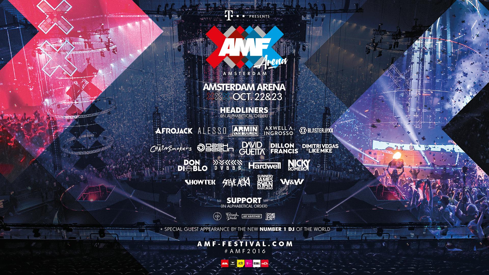 amf arena lineup