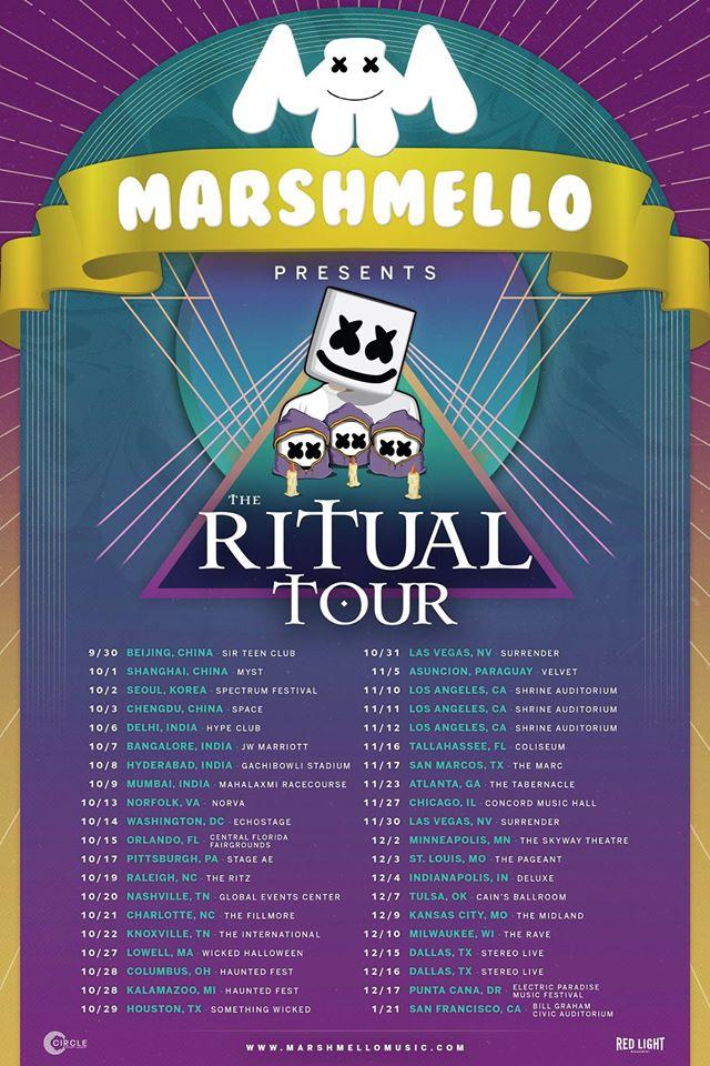 marshmello ritual tour
