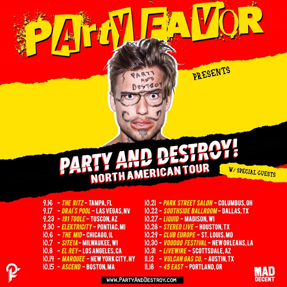 party favor tour flyer square