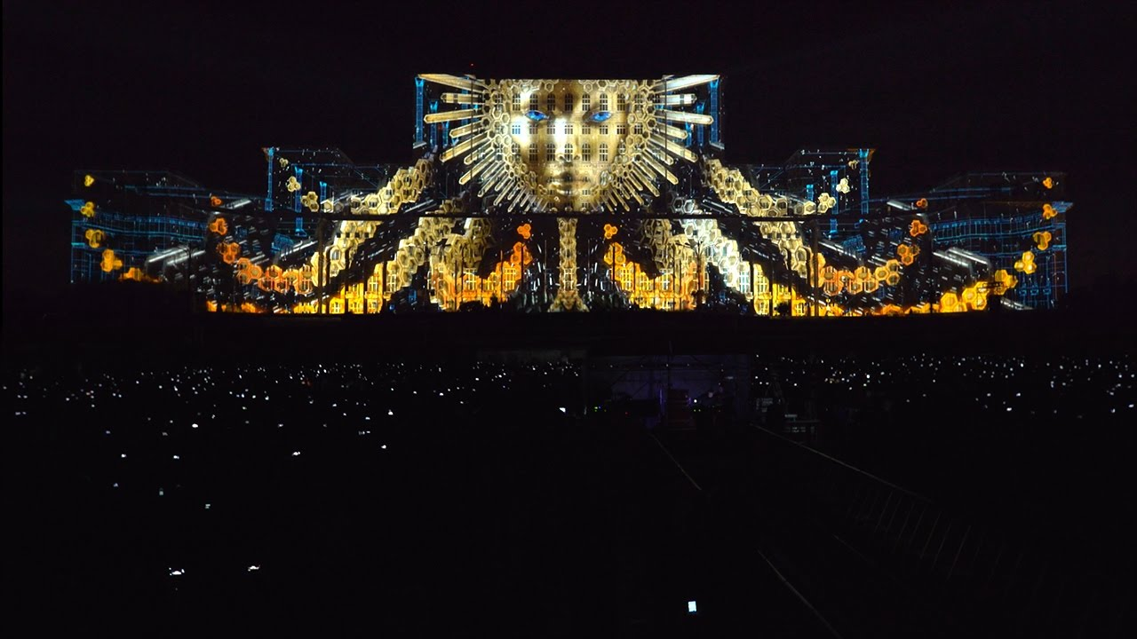 watch the future of d projection mapping  your edm - watch the future of d projection mapping