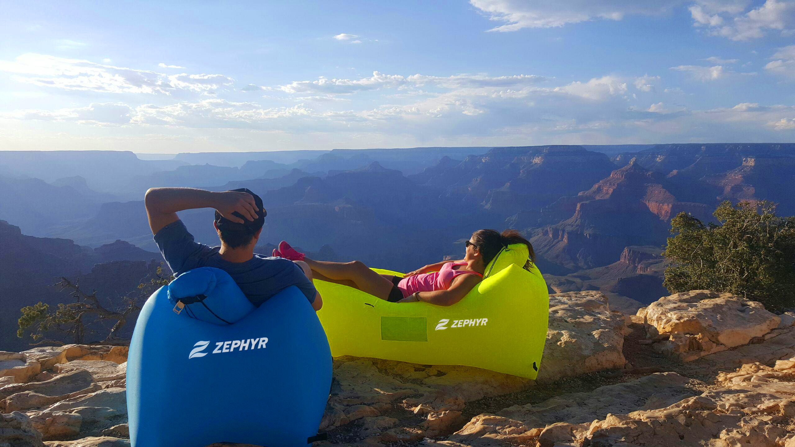 Win The Ultimate Festival Accessory, The Zephyr Inflatable Hammock