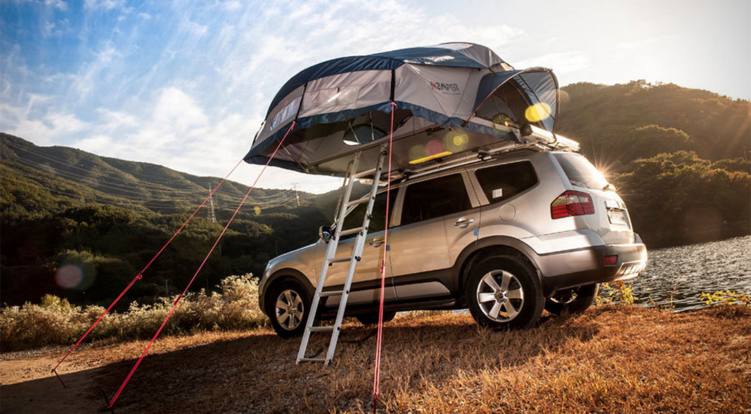 The Skycamp Is The Perfect Festival Tent For Your Car