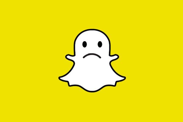 Sad Snapchat Ghost