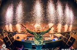 David Guetta flames
