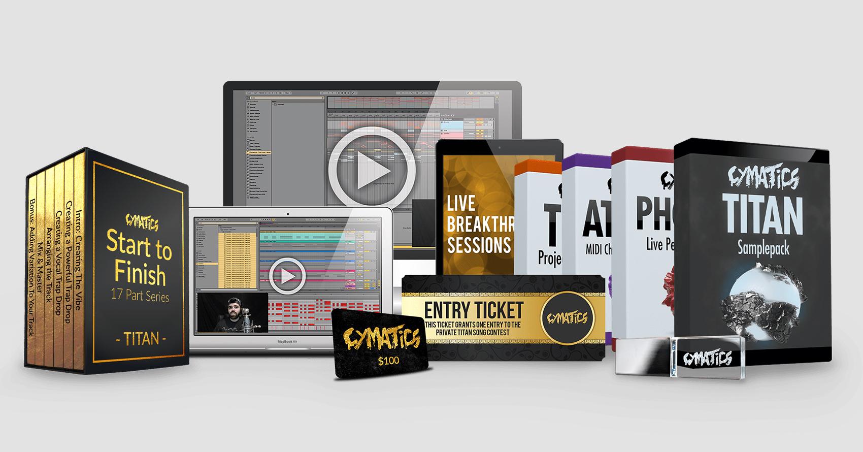 REVIEW: Cymatics Titan Samplepack | Your EDM