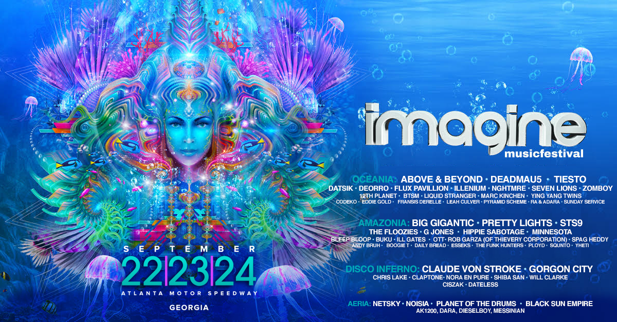 Image result for imagine music festival 2017 lineup