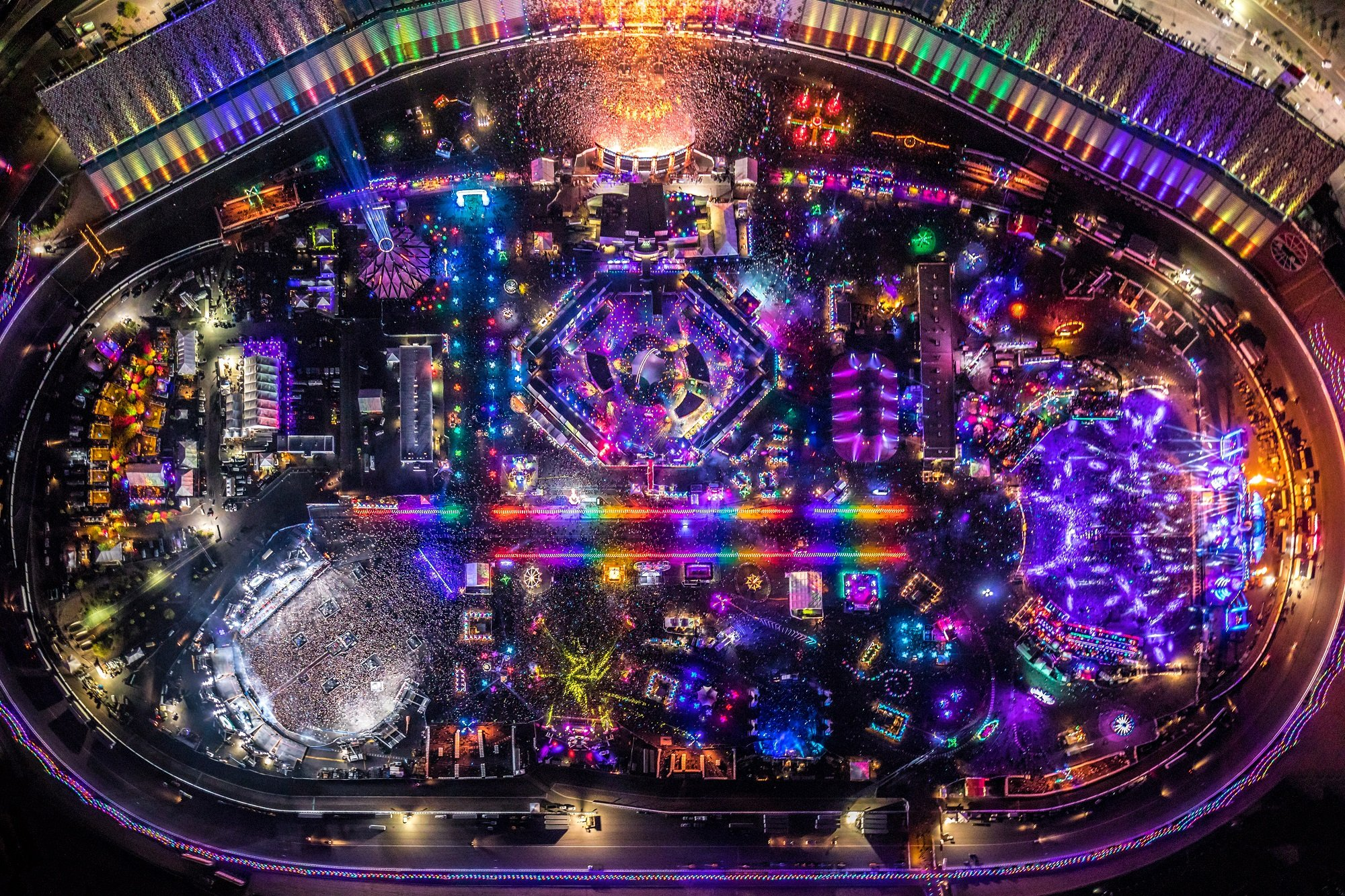 Watch The Edc Live Stream 2017 Day 3 Your Edm
