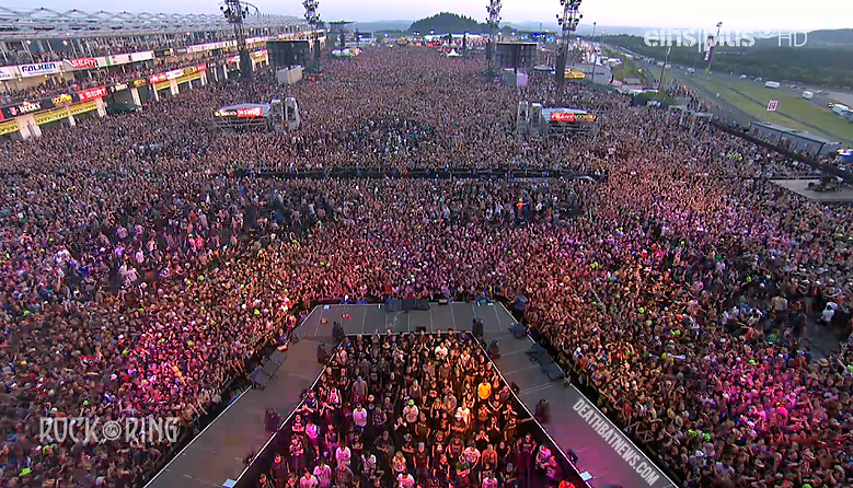 Rock Am Ring Festival Evacuated After Report Of Quot Concrete